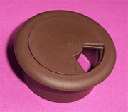 Brown Wire Grommets Nylon Plastic