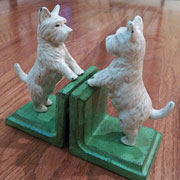 Dog and Cat Door Stops Bookends and Others