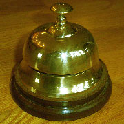 Hotel Counter Desk Bells