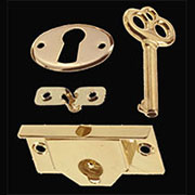 Half Mortise Lock Mount In Half Hole