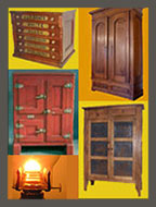 Hardware for Ice Boxes Pie Safes Oil Lamps Wardrobes and Spool Cabinets