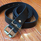 Long Leather Strap Belts for Trunks