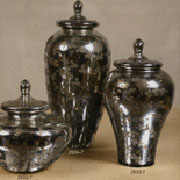 Homart Bohemian Mercury Jar Glass