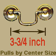 Drawer Pull 3-3/4 Centers