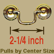 Drawer Pull 2-1/4 Centers