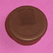 1-1/2 Inch Hole Fit Brown Wire Grommet 6620-058