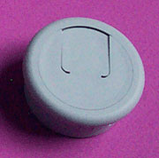 1-1/2 Inch Hole Fit Grey Wire Grommet 6620-021
