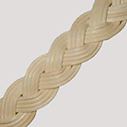 "Rattan Braid Sold by the Foot R-7420 1"" wide"