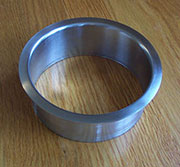 (B) 5x2 Inch Brushed Stainless Steel Trash Grommet Trim Ring HC-6145-100