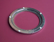 "9"" Aluminum Lazy Susan Swivel Bearing SXLAZSUSN9AL"