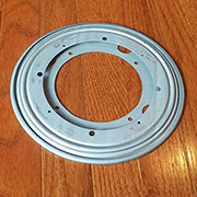 (B) 9 Inch Steel Lazy Susan Swivel Bearing XLAZSUSN9Z