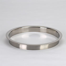 (H) 8x1 Inch Polished Stainless Steel Trash Grommet Countertop Trim Ring HC-6148-179