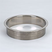 (I) 8x2 Inch Polished Stainless Steel Trash Management Grommet Countertop Trim Ring HC-6148-279