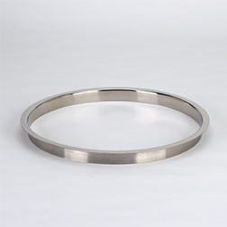 (L) 12x1 Inch Polished Stainless Steel Trash Grommet Countertop Trim Ring HC-6152-179