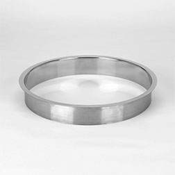 (M) 12x2 Inch Polished Stainless Steel Trash Grommet Countertop Trim Ring HC-6152-279