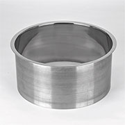 (N) 12x6 Inch Polished Stainless Steel Trash Grommet Countertop Trim Ring HC-6152-679
