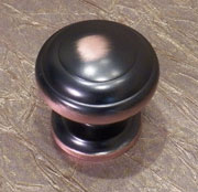 Knob in Bronze Finsh P-2283-OBHHERSH