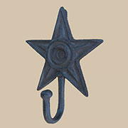 Iron Star Coat Hook UDX-1100
