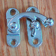 Nickel Plated Small Box Latch OBP-2433NP