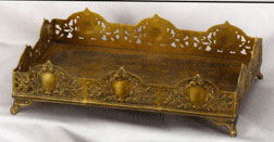 Discontinued, will not ship. Brass Dresser Tray AA-51699