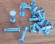 Trunk Aluminum Screw Post OBL-1262-5/8 M-3755