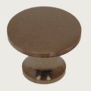 "Knob for Stacked Bookcase in Cast Antiqued Brass for Globe Wenicke Macey Stack. Brands 5/8"" Diameter BM-1223+AB"