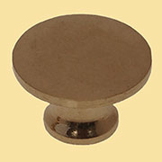 Knob for Stacked Bookcase Brass for Globe Werneke Macey Barrister Bookcases BM-1224+AB 3/4 Inch Diameter M2-0351H