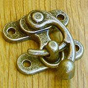 Antique Brass Finished Purse Latch OBP-2127ANTB