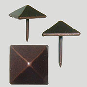 Square Pyramid Head Tack in Antique Copper 12 Count AC-3524