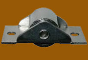 Steel Trunk Bottom Caster Roller Sold by Each not 4 D-4917
