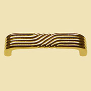 Art Deco Drawer Pull Brass Polished Solid Brass BM-1332PB DA-32