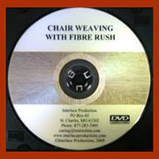 Chair Weaving with Fiber Rush DVD V-0013