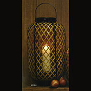 Asian Candle Holder Lantern HA-9318-0