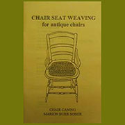 Basic Chair Caning Book A-0026