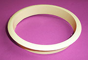 Nylon Trash Trim Ring Grommet Almond Beige Plastic HC-6144-029