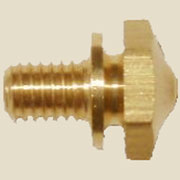 """D"" Western Electric Brass Screw for Oak Telephone Bells B-9959"