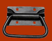 Metal Trunk Handle Black Powder Coat for Chest
