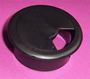 2-3/8 Inch Hole Fit Black Wire Grommet HC-6237-014