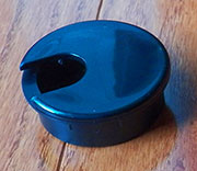 2 Inch Hole Size Black Wire Grommet HC-6730-14