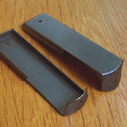 Bookcase Globe Wernicke Step Back Shelf Brackets Pair AD-2796