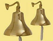 Heavy Cast Brass Dinner Bell Wall Bell UDB-125