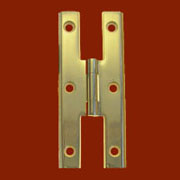 Machined Solid Brass Colonial H Hinge