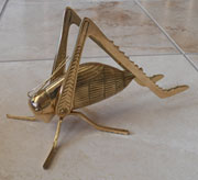 Large Brass Fireplace Cricket UDM-167