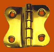 Brass Hoosier Hinge Sold by Each Not Pairs I-33 BM-1601PB