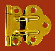 McDougall Style Brass Hinge Sold by each I-40 BM-1591PB