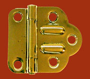 McDougall Cabinet Hinge Brass Sold By Each Not Pairs. I-41 BM-1592PB