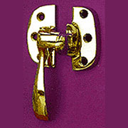 Brass Ice Box Latch. Left Hand I-20