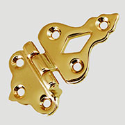 Ice Box Hinge BM-1500PB in Solid Brass B-2097