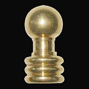Brass Lamp Ball Finial B-9535