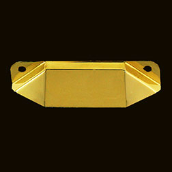 (D)Napanee Brass Hoosier Type Drawer Pull. B-1388 B-35 BM-1162PB